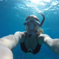 snorkeling, diving, snorkel mask, blue water, water water